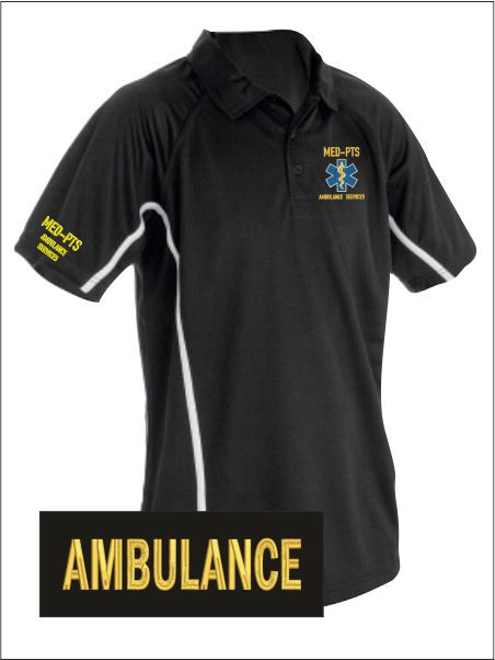Med Pts Polo Shirt
