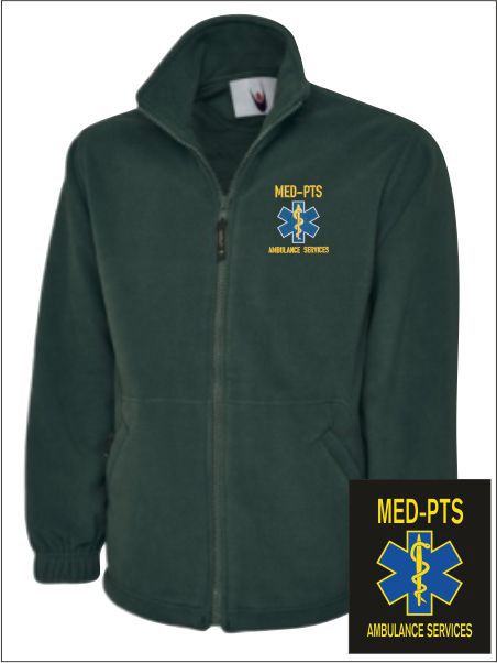 Med Pts Fleece Jacket