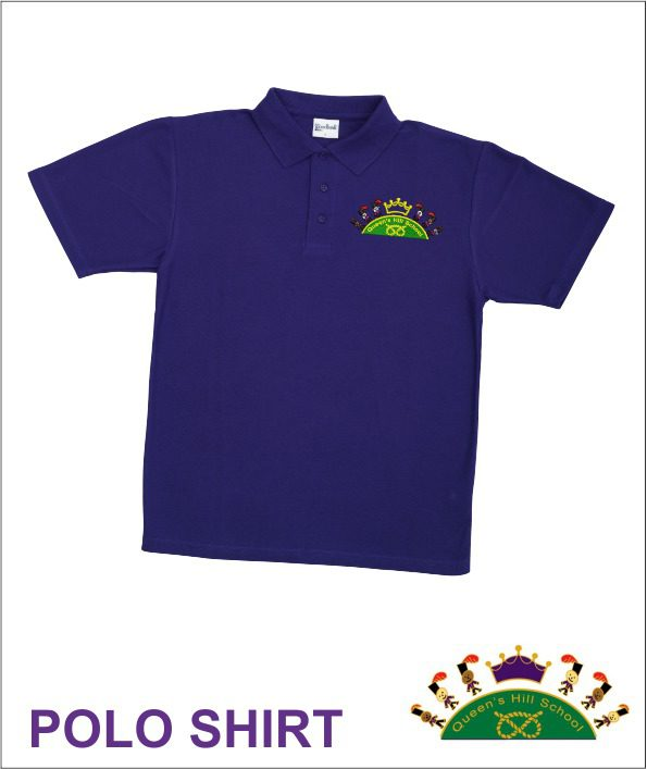 Queen S Hill School Sports Polo