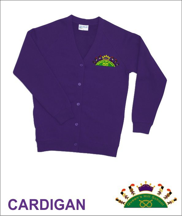 Queen S Hill School Cardigan