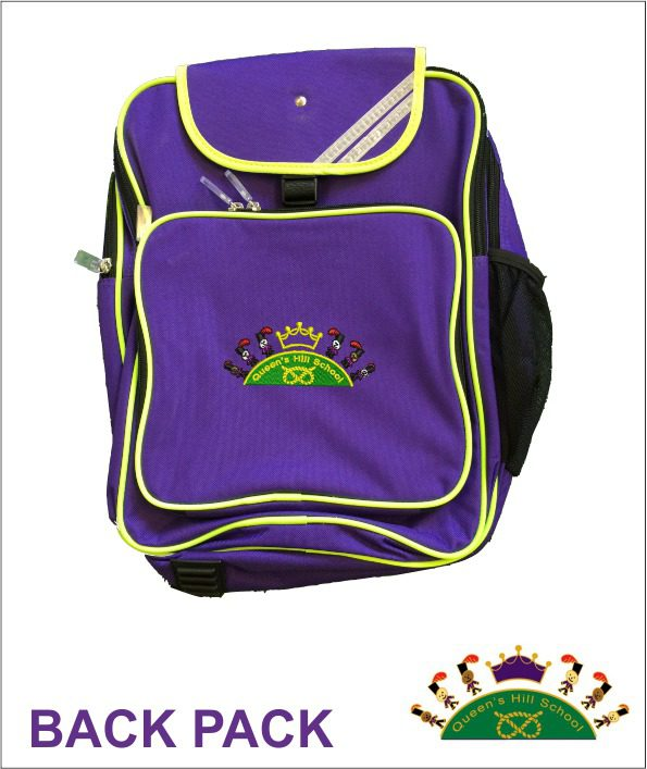 Queen S Hill School Back Pack