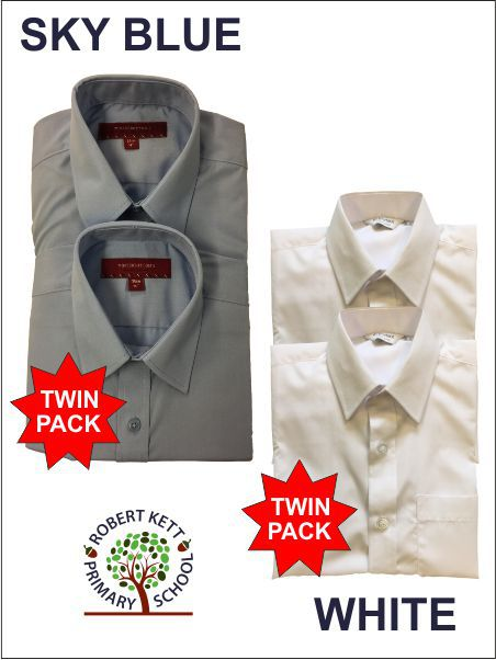 Twin Pack Shirt Blouse Options