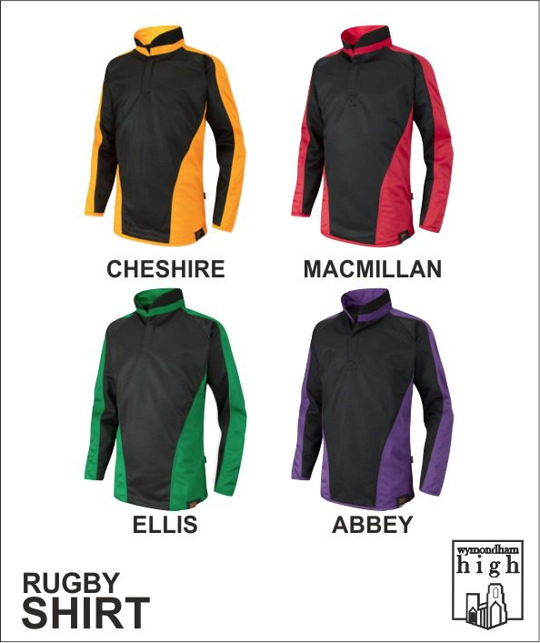 Wymondham High Rugby Shirts