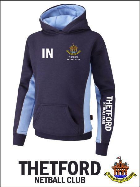 Thetford Netball Hoody