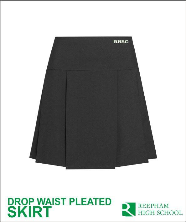 Rhsc Drop Waist Pleat Skirt
