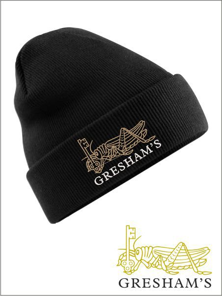 Gresham School Knitted Hat