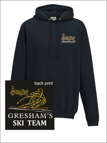 Gresham School Ski Team Hooded Sweatshirt