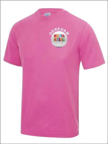 Walking Netball Dereham Tee