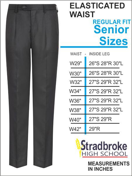 Senior Elastic Waist Trouser