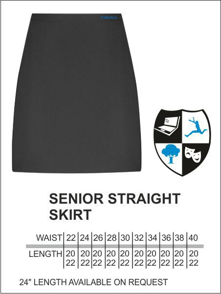 Obhs Straight Skirt