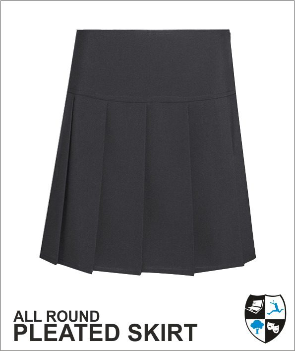 Obhs Pleat Skirt