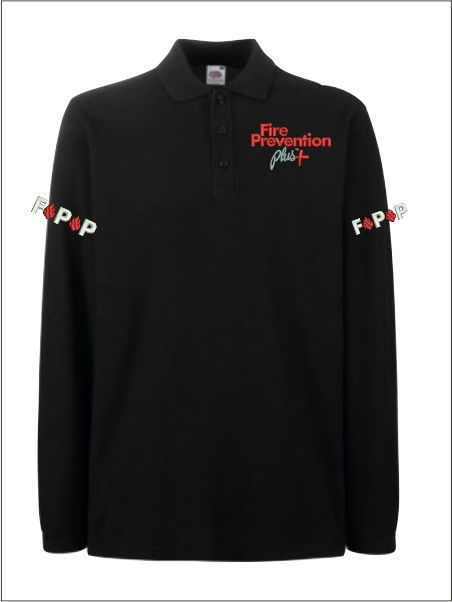 Fire Prevention Ls Polo Front