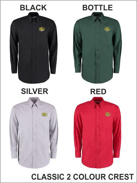 Long Sleeve Shirt Classic 2 Col Crest