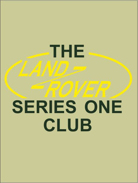 Landrover Series One Club Crest