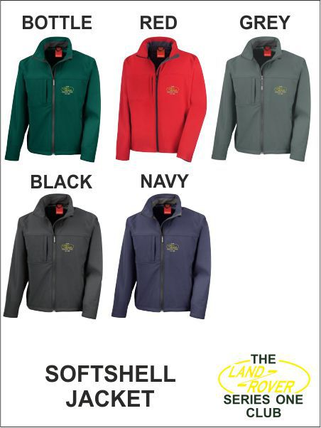 Landrover Series One Club Softshell Classic
