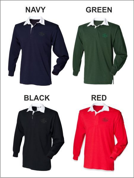 Long Sleeve Rugby Shirt Tonal