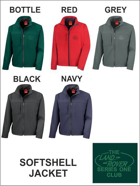Landrover Series One Club Softshell Tonal