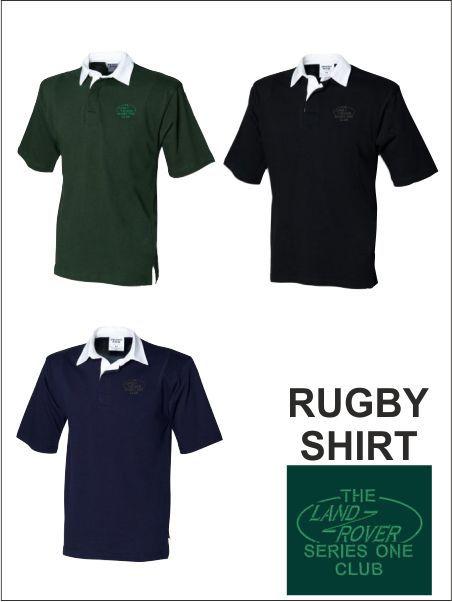 Short Sleeve Rugby Shirt Tonal