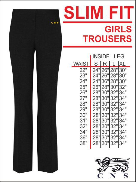 Cns Girls Trouser