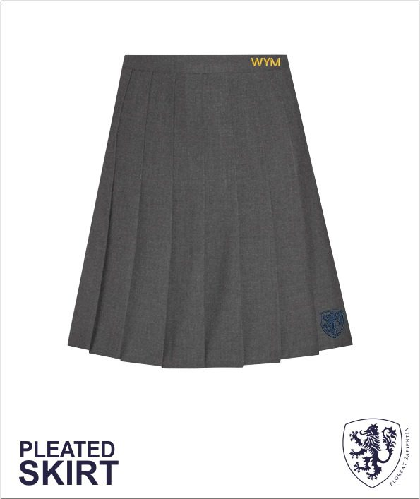 New Pleat Skirt
