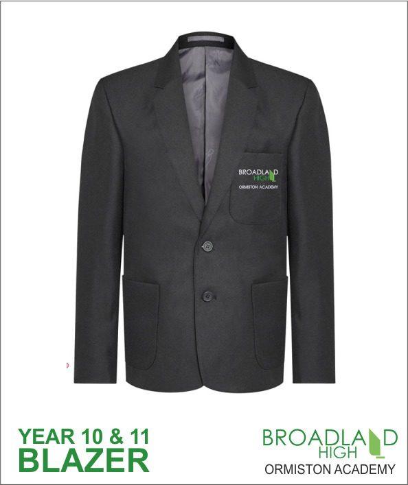 Broadland High School Black Blazer