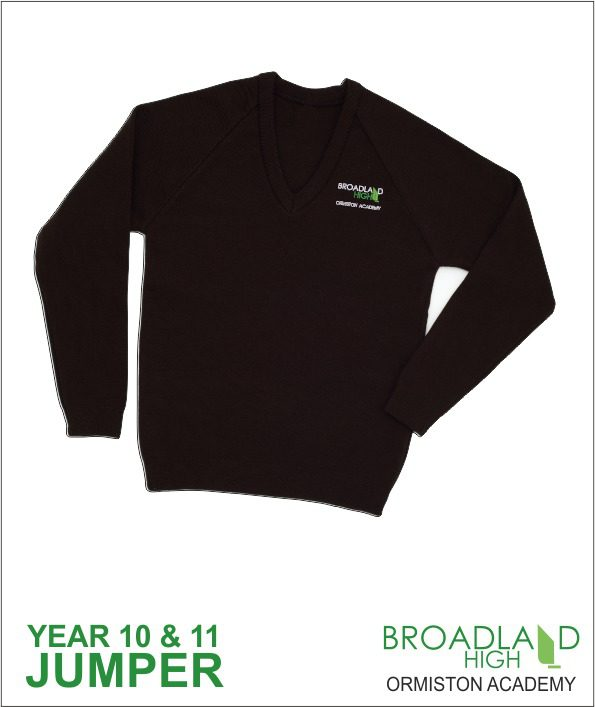 Broadland High School Black Sweater