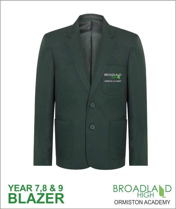 Broadland High School Green Blazer