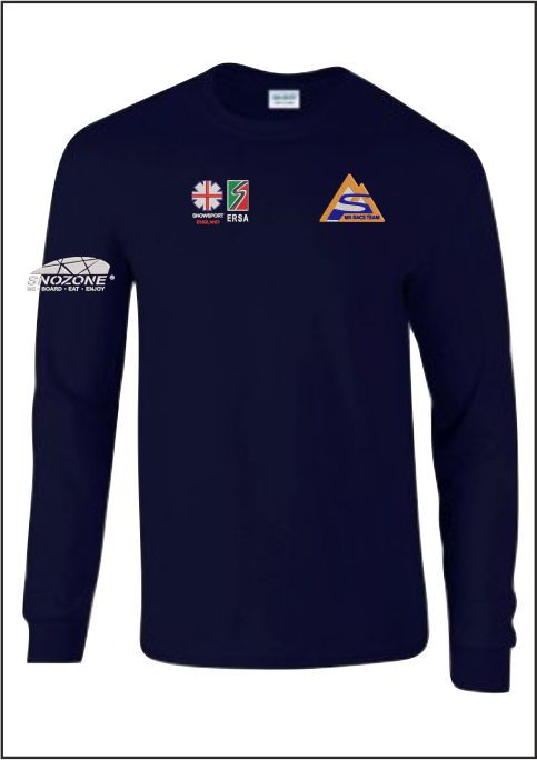 Mk Ski Team Long Sleeve Tee Front