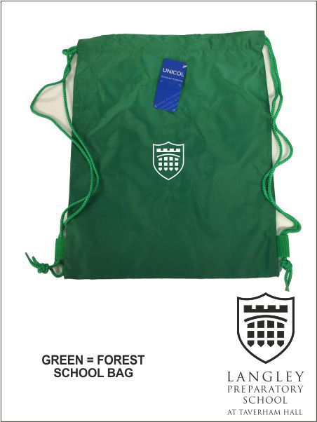 Green Gym Bag