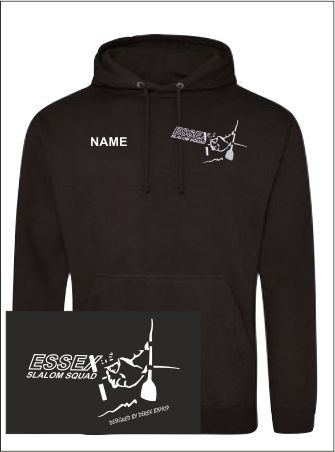Essex Slalom Black Hoody