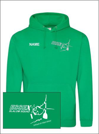Essex Slalom Green Hoody