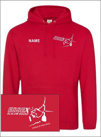 Essex Slalom Red Hoody