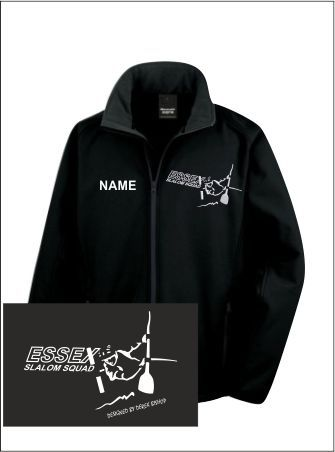 Essex Slalom Black Softshell
