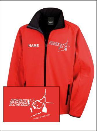 Essex Slalom Red Softshell