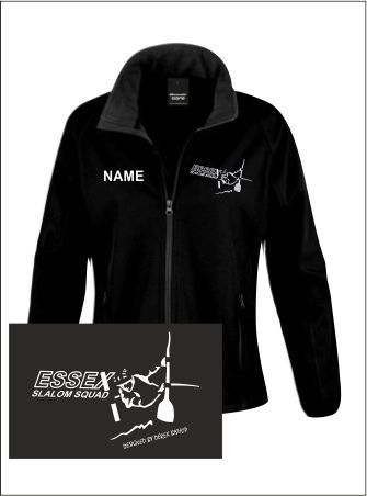 Essex Slalom Womens Black Softshell