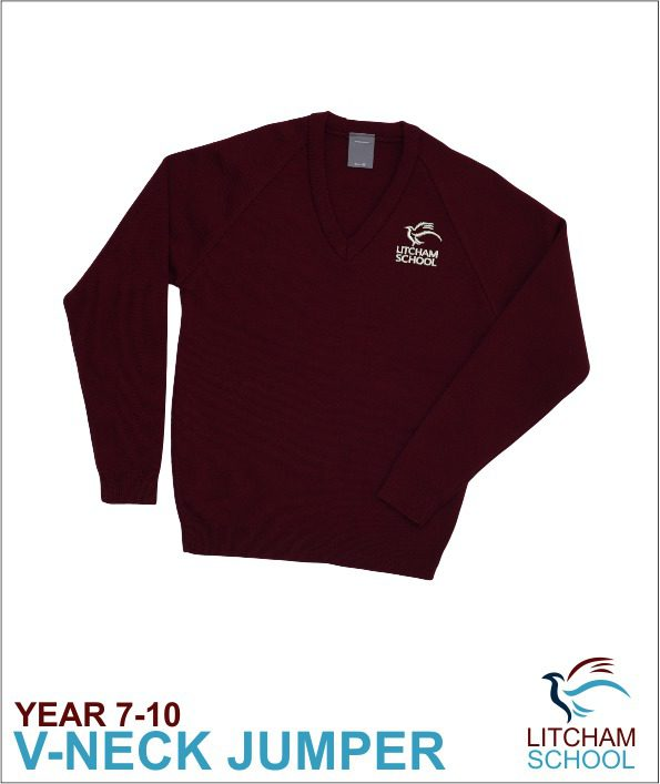 Litcham Maroon Sweater