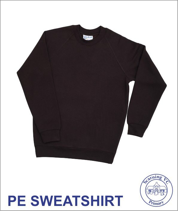 Plain Black Pe Sweatshirt