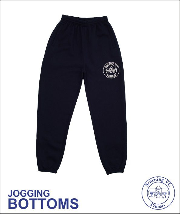 Embroidered Pe Jog Pants