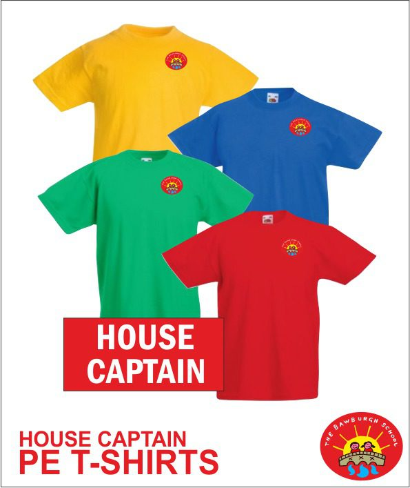 House Captain Tee Shirt
