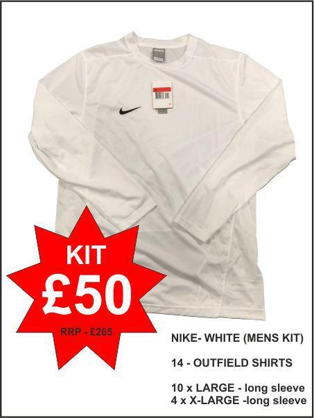 Nike Mens White Kit