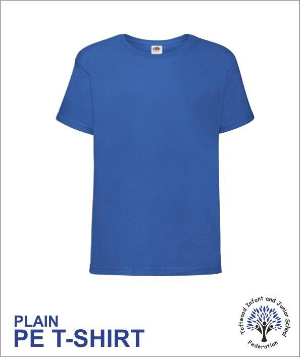 Pe T Shirt Plain