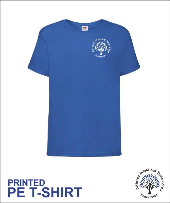 Pe T Shirt Printed