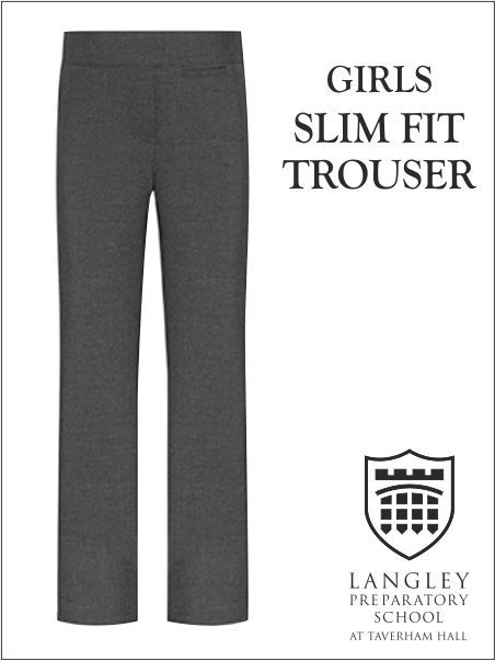 Junior Slim Girls Trouser