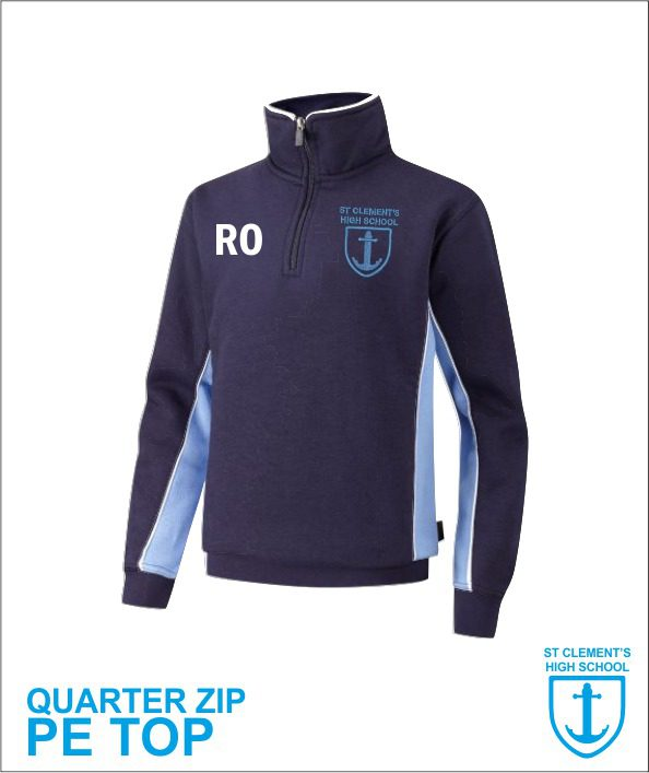 Quarter Zip Pe Sweatshirt