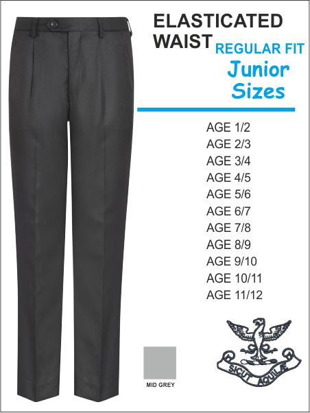 Elasticated Junior Trouser