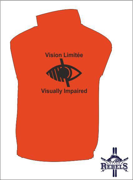 Vi Vest Orange Back