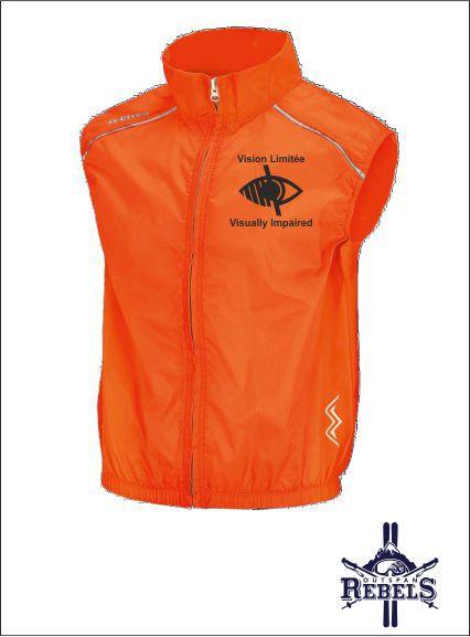 Vi Vest Orange Front