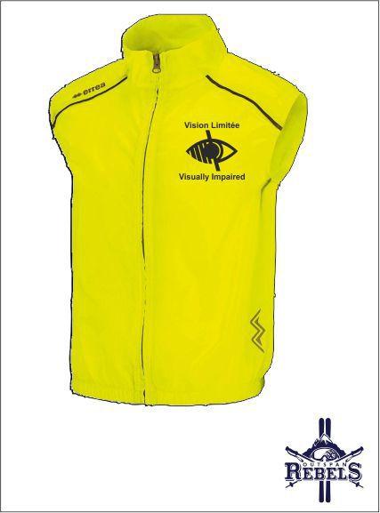 Vi Vest Yellow Front