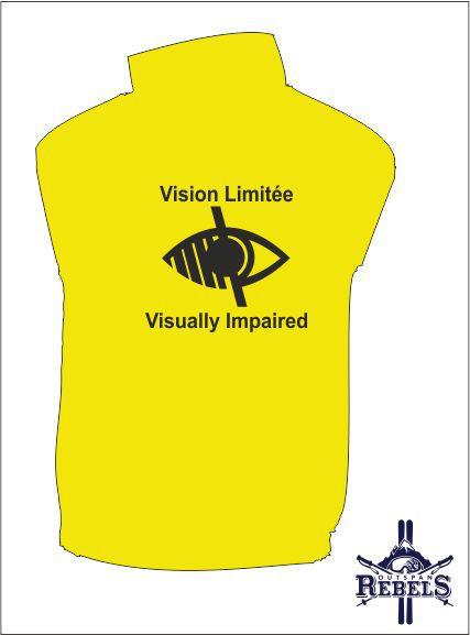 Vi Vest Yellow Back