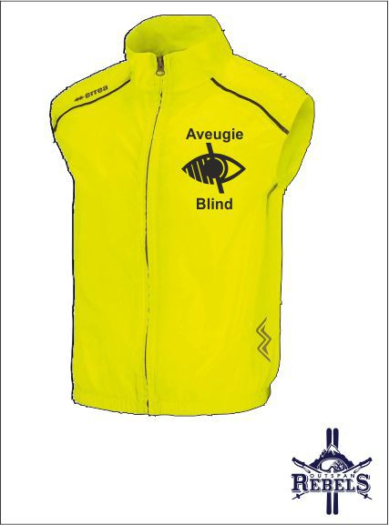 Blind Vest Yellow Front